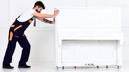 piano inpakken