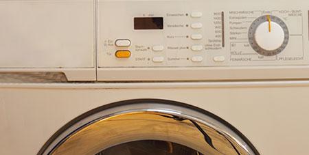 wasmachine trap op